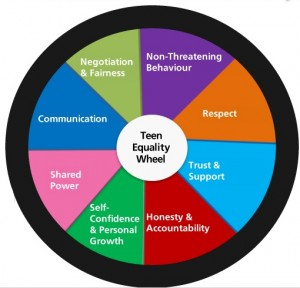 Teen Equality Wheel image